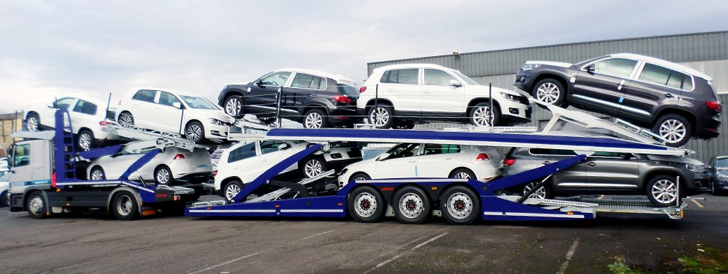 Renting One Way Car Carrier Trailer