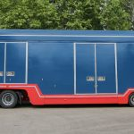 Lohr enclosed car-carrier: Confidential SHR.