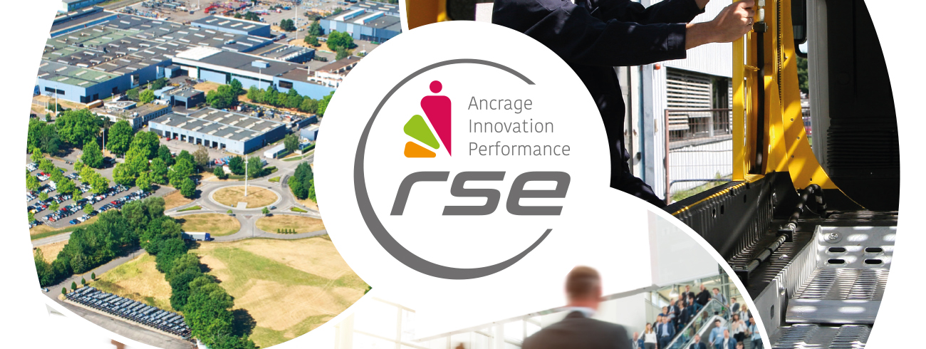 Logo RSE from Lohr Group.